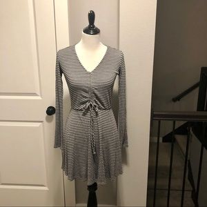 NWT Love Fire Heather Gray Dress size small